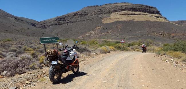 Start of Gannaga Pass, heading up.