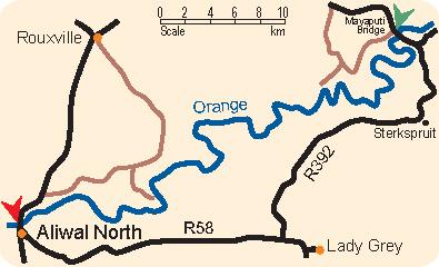 Orange River On Map Orange River – Mayap...