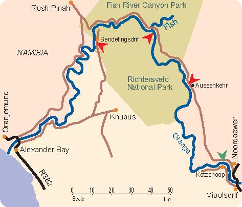 Orange River On Map Orange River – Viool...